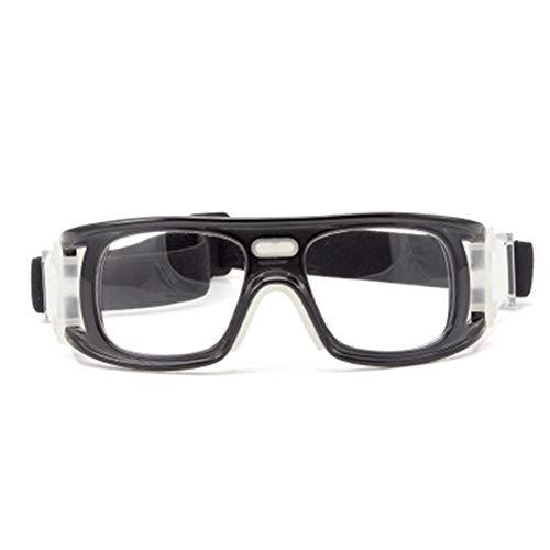 APJJ Radfahren Sport Windschutzscheibe Basketball Brille, Fußball Brille,Black