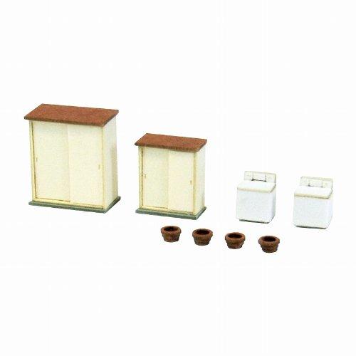 Sankei 1/150 Diorama Option Kit Minka Accessory B Mp04-81 (Paper Craft) Sankei