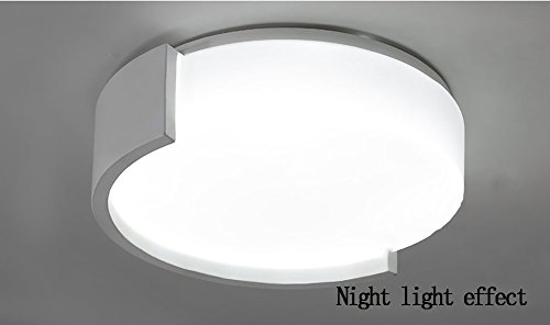 QMZB Runde LED-Deckenleuchte Bürodeckenleuchte Für Wohnzimmer Flur Badezimmer Beträgt der Lampendurchmesser Beträgt 40Cm,A