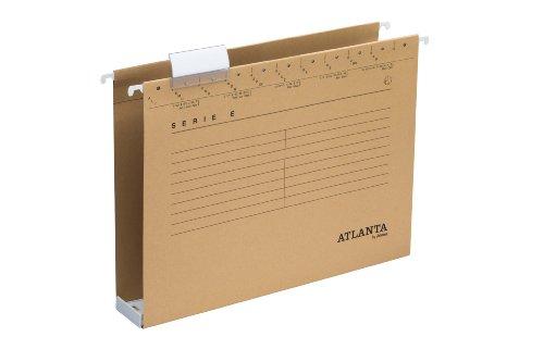 Atlanta Serie E Hängesammler A4, Jalema 2655214570, Robuste Hängesammler mit extra grosses Fassungsvermögen, 1er Packung, naturbraun