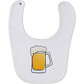 Azeeda 'Glass Of Beer' Baby Bib (BI00015687)