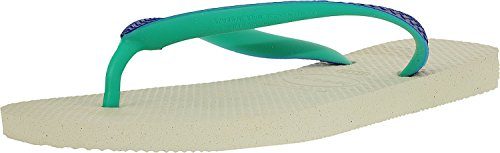 Havaianas Top Mix, Infradito Unisex-adulto White Marine Blue