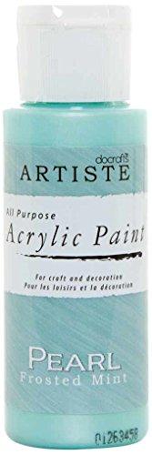 Preisvergleich Produktbild Docrafts Artiste Hohe Qualität Farbe, plastik, Pearl Frosted Mint, 3.4 x 3.4 x 9.9 cm
