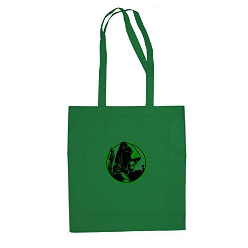 Planet Nerd Oliver - Stofftasche/Beutel, Farbe: grün