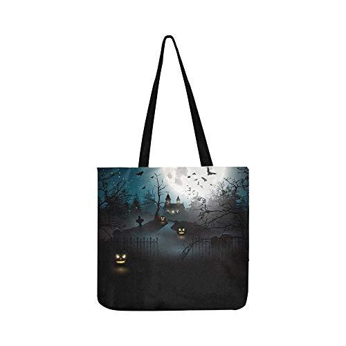 irche Woods Canvas Tote Handtasche Schultertasche Crossbody Taschen Geldbörsen für Männer und Frauen Einkaufstasche ()