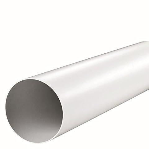 Fibo24 Ø 100, 125, 150 mm Tuyau de ventilation 50, 100, 150 cm Tuyau d