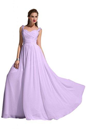 Sunvary New Fashion Chiffon Una spalla, Homecoming Gowns per feste per bambini Lilas