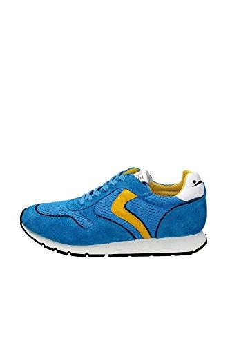 Voile 0012009984 Blanche Tessuto Giallo Sneakers Voile Blanche Sky 04 Uomo H4H7qaW