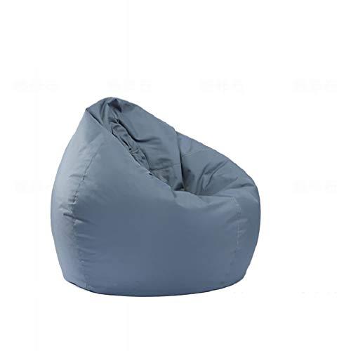 TLTLLRSF Lazy Sofa, Oxford Cloth Waterproof Bean Bag Sofá En Forma De Lágrima Sofá...