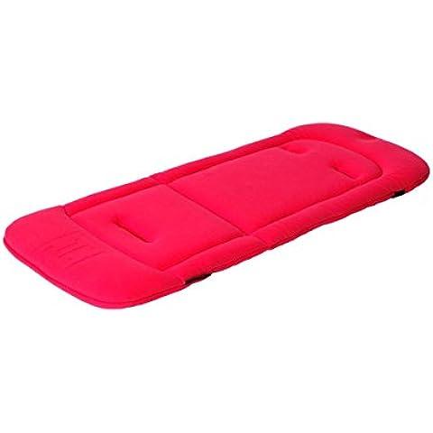 JETTE, Cuscino in schiuma memory per passeggino, Rosa (Pink) - Italiano Horn