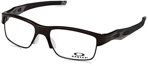 Ray-Ban Herren 0OX3128 Brillengestelle, Schwarz (Pewter), 53