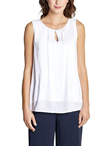 Street One Damen 341521 Bluse, White, (Herstellergröße:40)