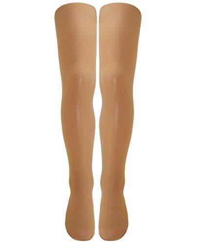 Beige Opaque Strümpfe (EveryKid Ewers Mädchenfeinstrumpfhose Feinstrumpfhose Strumpfhose Markenstrumpfhose Kleinkind für Kinder (EW-96010-S17-MA2-363-98/104) in Teint, Größe 98/104 inkl Fashionguide)