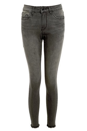 SS7 nouvelles femmes Skinny Cheville Jeans, Gris, Tailles 8 à 14 Gris Moyen