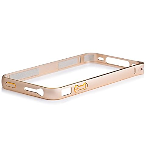 iCues Apple Apple iPhone 4/4S Alu Bumper Bicolor - Gold