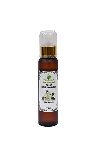 Eau florale de Fleurs d'Oranger bio 100ml - spray Tonique Calmant et Anti Taches Anti Age - pour visage, corps et cheveux