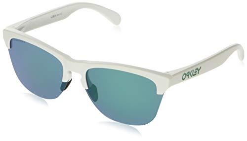 Ray-Ban Herren 0OO9374 Sonnenbrille, Mehrfarbig (Matte White), 63