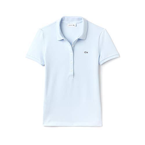 Lacoste Damen Poloshirt Pf7845 , Blau (Rill T01) , 50