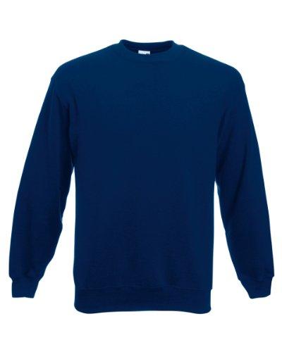 Fruit Of The Loom Belcoro® Garn Pullover (3XL) (Marineblau) 3XL,Marineblau