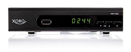 Xoro HRT 7522 HD DVB-T Receiver (PVR Ready, HDTV, HDMI, SCART, USB 2.0) schwarz
