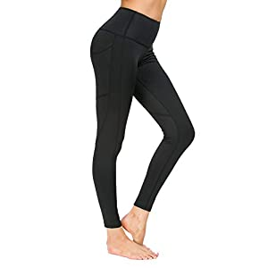 Munvot Damen Laufhose Sporthose Sport Leggings Tights 1 bis 2er Pack