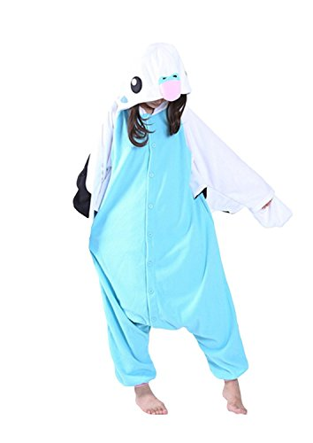 Honeystore Wellensittich Onesie Jumpsuits Papagei Schlafanzug