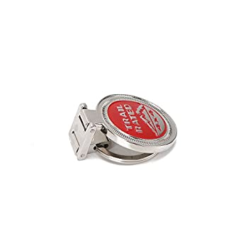 Keyring , Metal Trail Rate 4x4 Souvenirs Keychain 3d Badge Logo (Rot) 3