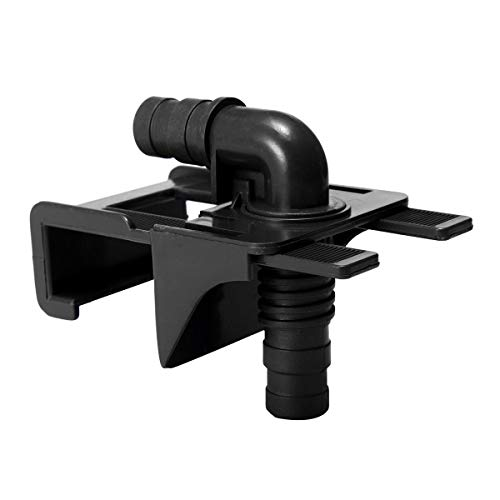 Anddod Acrylic Aquarium Tank Water Pipe Stand Clamp Hose Tube Rod Fixing Clip Mount Holder -