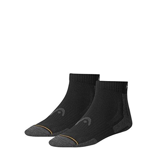 head-socken-performance-quarter-2p-calcetines-para-hombre-color-negro-talla-43-46