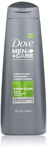 Dove Men+Care 2 in 1 Shampoo and Conditioner, Fresh and Clean 12 Ounce by Dove