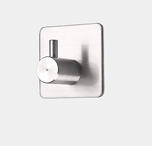 Kefaith Robe/Handtuchhaken selbstklebend 304 Edelstahl Nickel gebürstet Bad Küche Organizer