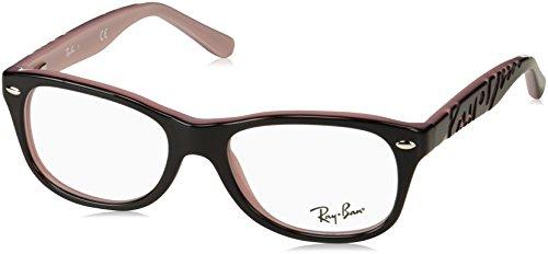 Ray-Ban Unisex-Kinder RY1544 Brillengestell, Braun (Topo Havana On Opal Pink), 48