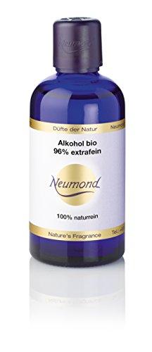 Neumond ätherisches Öl, Alkohol bio 96 Prozent extrafein, 100 ml, 1er Pack (1 x 100 ml)