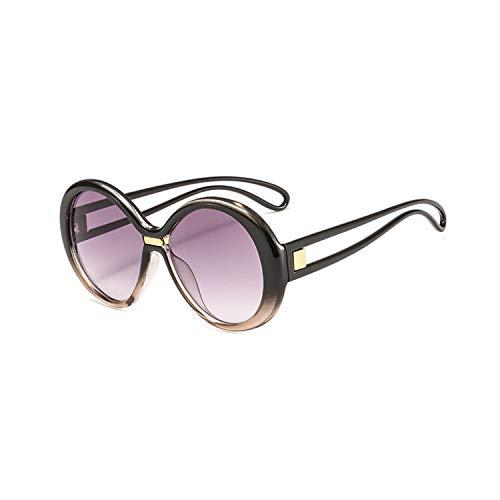 Sport-Sonnenbrillen, Vintage Sonnenbrillen, Imwte NEW Luxury Sunglasses Women Men Classic Gradient Brand Big Frame Sun Glasses Female Vintage Round Sunglass Goggles UV400 C2
