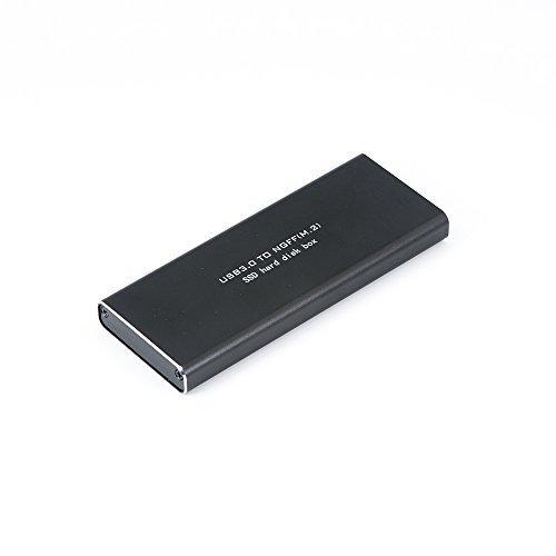 QUMOX NGFF M.2 SSD USB3.0 External SSD convertidor caso del recinto de adaptador