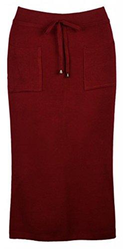 Eyekepper Jupe longue a Deux poches - taille unique excellente qualite femmes Bordeaux