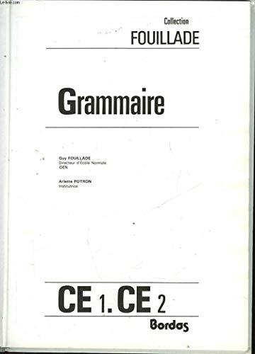 Grammaire, CE 1, CE 2