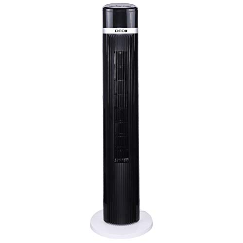 Deco Air Tower Elegant Indoor Fan With Remote (35 Watts) - 1 Unit