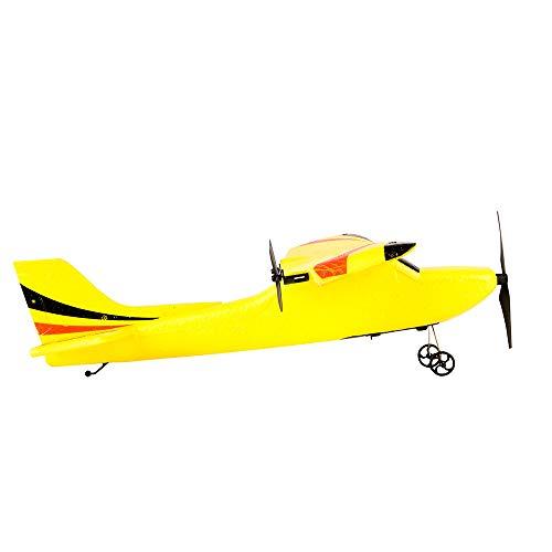 MDenker Schimmel Flugzeuge Z50 Segelflugzeug Zwei-Wege-Mittelklasse Segelflugzeug Flugzeug Spielzeug Flugzeug Drohne Luftgläser Modellbau Glider Fernsteuerung Flieger-Modell (Gelb) (Ps3 Gelbes Licht)