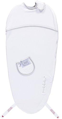Puckababy® Sommer Pucksack mit Bauchband - PIEP 0/3 M | Tencel | Pucksäcke | Swaddle | Sommer