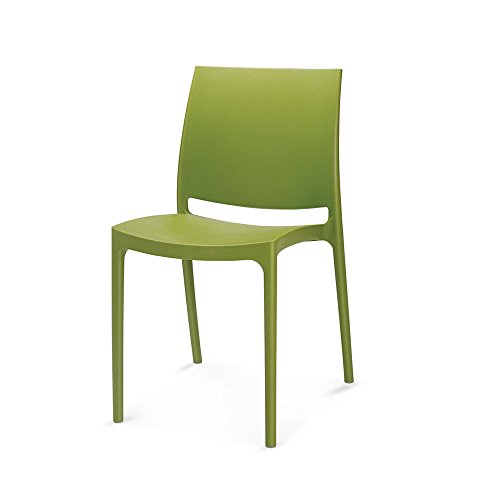 Nilkamal Novella Series 08 Chair (Green)