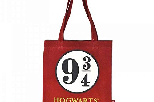 Half Moon Bay Z884355 Harry Potter Sac de Jute 9 3/4 Hogwarts Express Beige