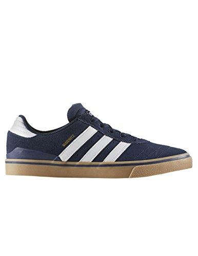 adidas Herren Busenitz Vulc ADV Skateboardschuhe, Blau (Maruni/Ftwbla/Gum4), 43 1/3 EU (Skateboarding Adidas)