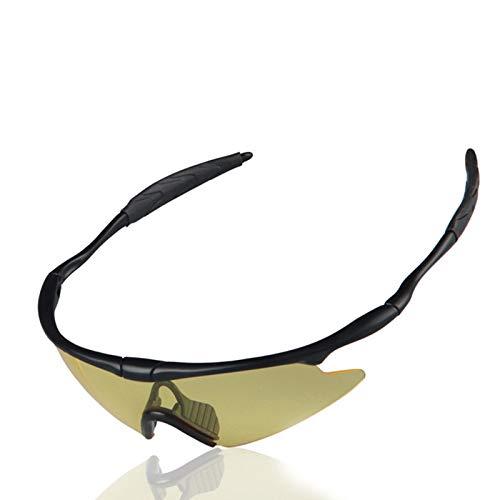 Sportbrille Clear Damen Herren Winddichte Motorradbrillen Für Außenbereich Taktische Reitbrillen Tragen Sonnenbrillen Auf Gelb