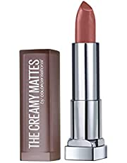 Maybelline New York Color Sensational Creamy Matte Lipstick, 657 Nude Nuance, 3.9g