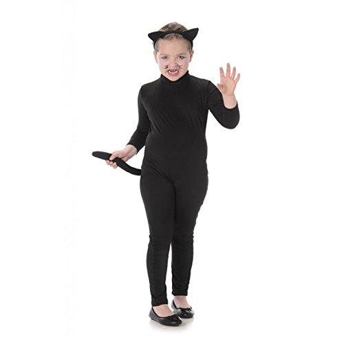 Imagen de karnival–costumes 83036–gato negro disfraz para niños tamaño m