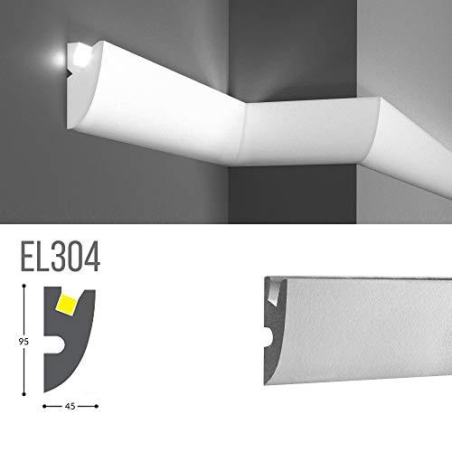 Cadre pour éclairage indirect LED mural ou plafond - EL304 (1,15 mètres)