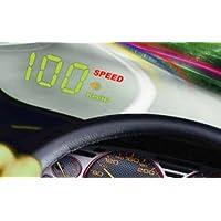 LED HEAD-UP Display GPS HUD Digital Tacho mit Alarmfunktion Geschwindigkeit