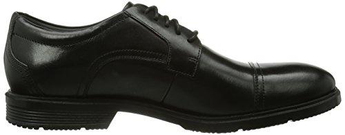 lea De Negro Zapatos Hombre Rockport Dedo Del Pie Vestir Cs Casquillo nU7pwqOO