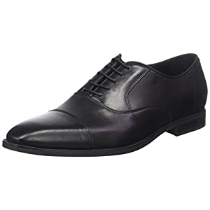 Geox Men U New Life E-U74P4E00043 Oxfords, Black (Black C9999), 8 UK (42 EU)